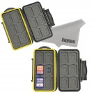 Kupton 24-slot Memory Card Carrying Case (2 Pieces)
