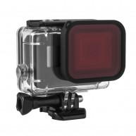 Kupton Red Filter, Underwater Camera Diving Waterproof Red Color Correction Filter for Kupton GoPro Hero 6 / 5 Housing Case