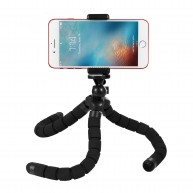 Kupton Octopus Tripod Portable Adjustable Flexible Tripod Stand Holder Mount with Clip Accessaries for GoPro/ Camera/ iPhone/ Android Phone