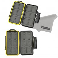 Kupton Universal 12 and 24 slots Water-resistance Memory Card Hard Carrying Case