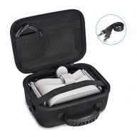 Kupton Oculus Go Case, Hard EVA Travel Storage Protective Carrying Case for Oculus Go Standalone Virtual Reality Headset - 32GB/64 GB, Controllers & Other Accessories
